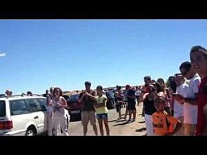 California freeway rock show