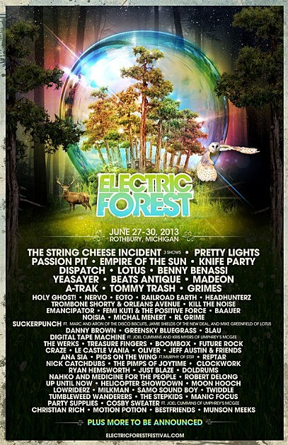 Electric Forest Festival 2013
