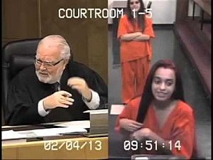 Flipping Off The Judge