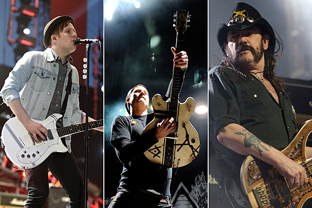 Patrick Stump, Tom DeLonge, Lemmy Kilmister