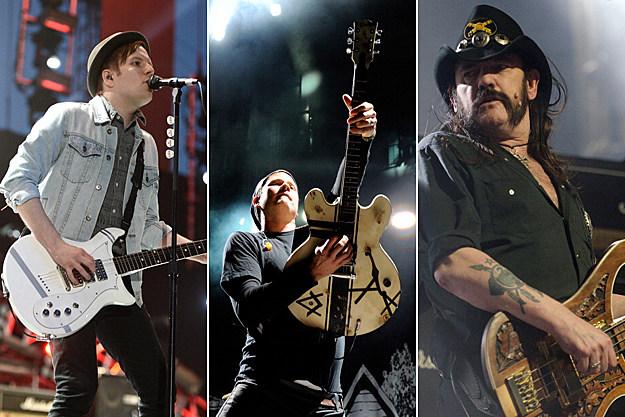 Patrick Stump, Tom DeLonge, Lemmy Kilmister