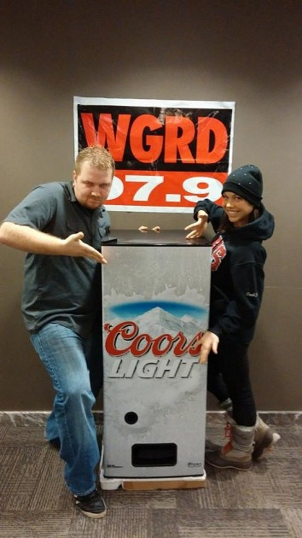 Wgrd Coors Light Fridge Dispenser Giveaway 97 9 Wgrd