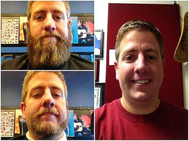 Brilliant Free Beer Hot Wings Steves Beard Transformation Short Hairstyles For Black Women Fulllsitofus