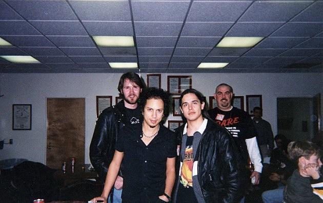 Johnnie Walker with Kirk Hammett
