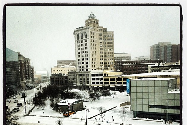 GR Snow Downtown