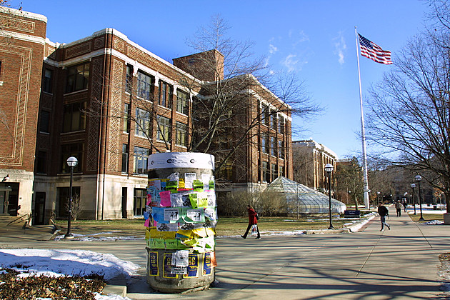 Exterior View Of The University Of Michigan Campus