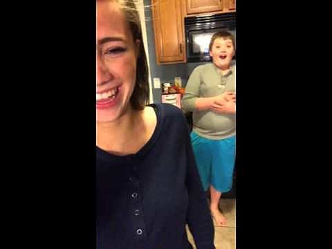 Girl Farts On Brother