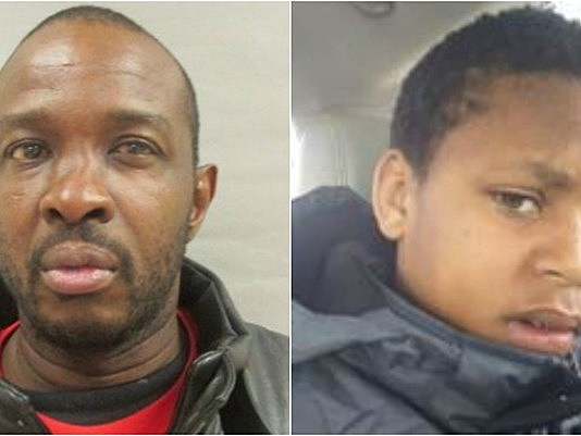 Police allege that Gregory Walker, left, abducted Deontae Mitchell. (Detroit Police Department)