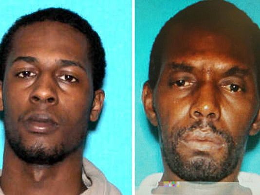 Roy Portis, left, and Ernest Coleman, right, are still be sought in connection with the crime. (Detroit Police Department)