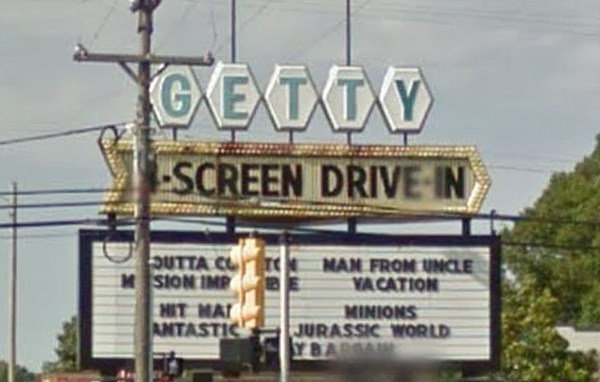 Getty DriveIn  Info amp Details  Celebration! Cinema