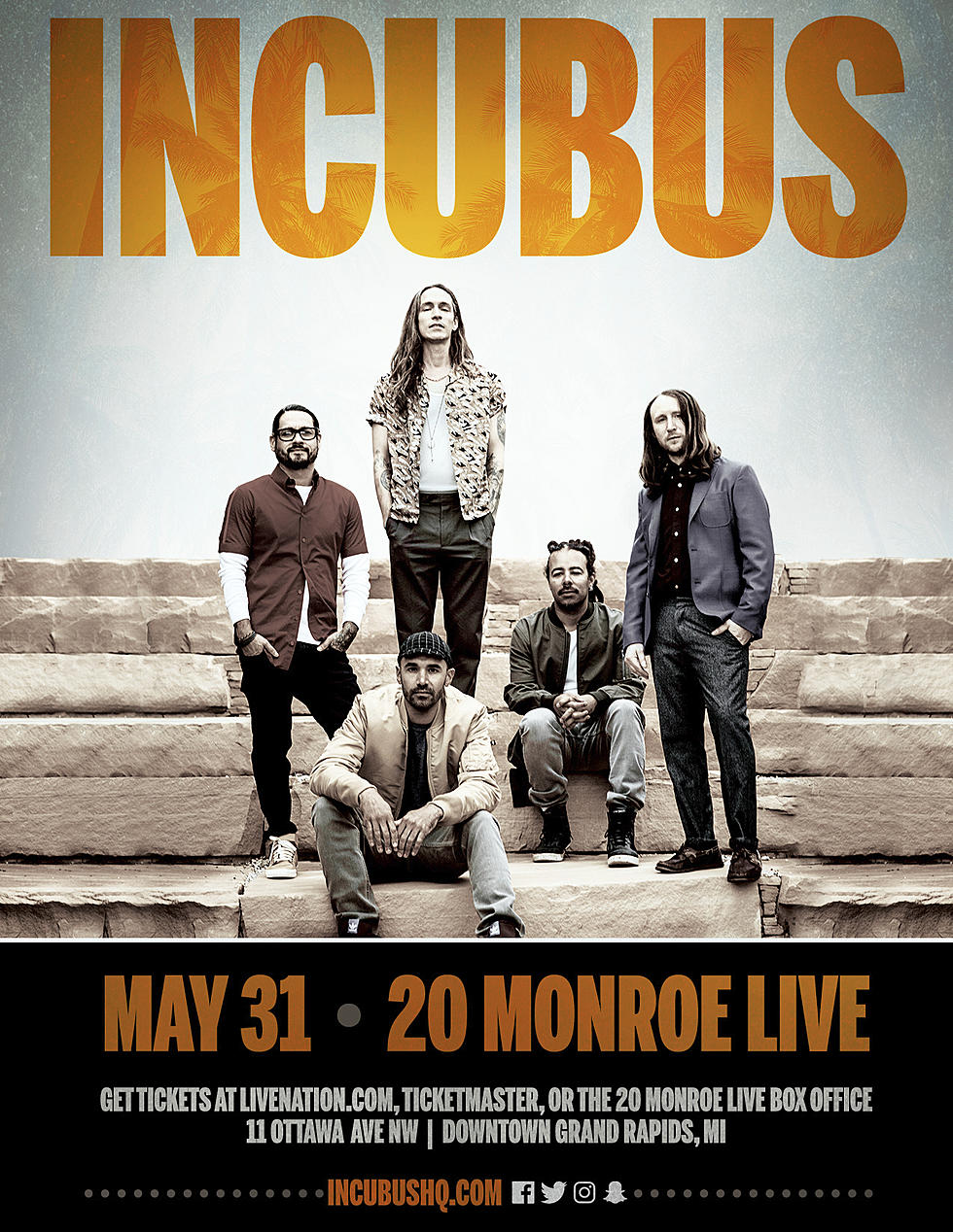 Incubus 20 Monroe Live Sold Out